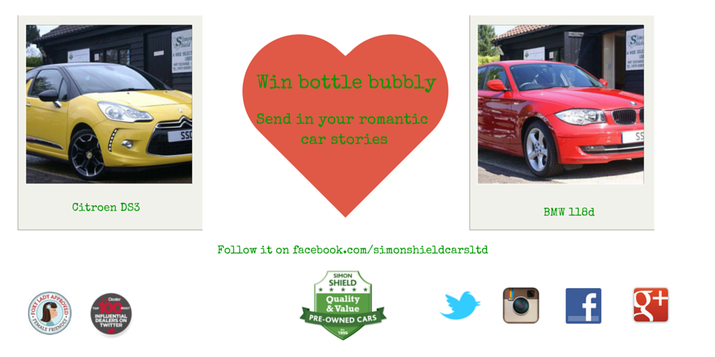 Win a bottle of bubbly