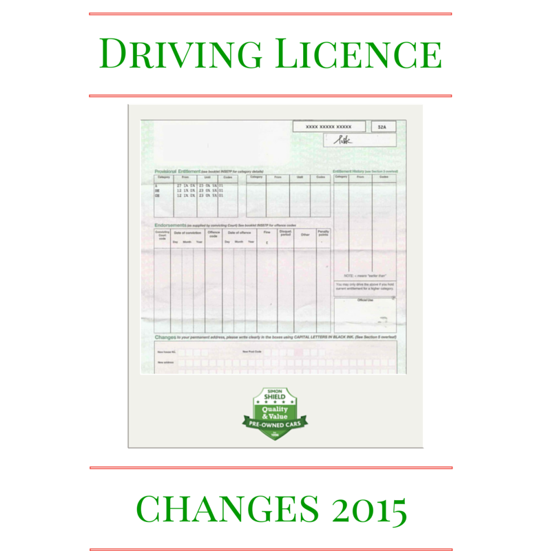 Counterpart Driving Licence abolished