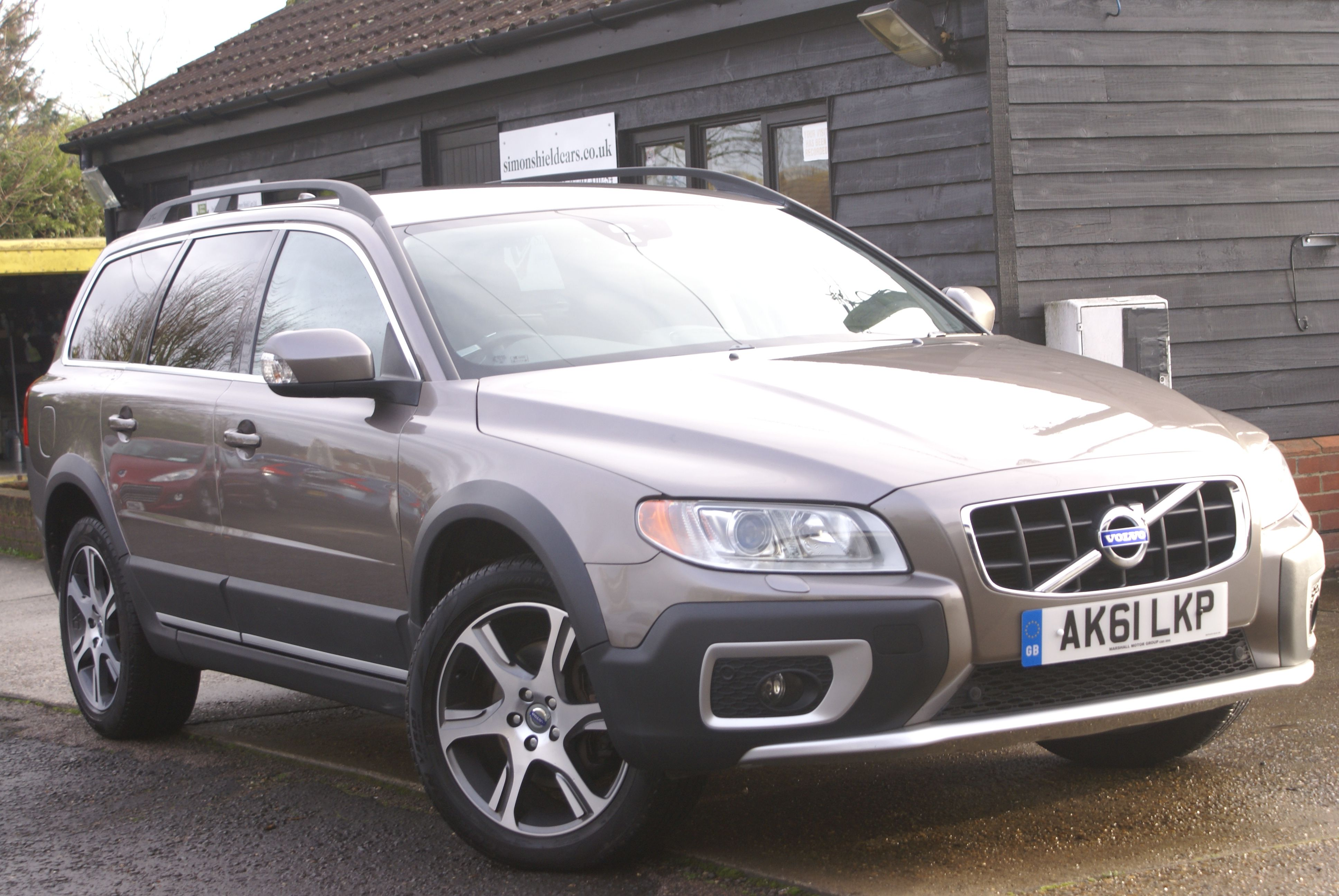 Measured precision in the Volvo XC70