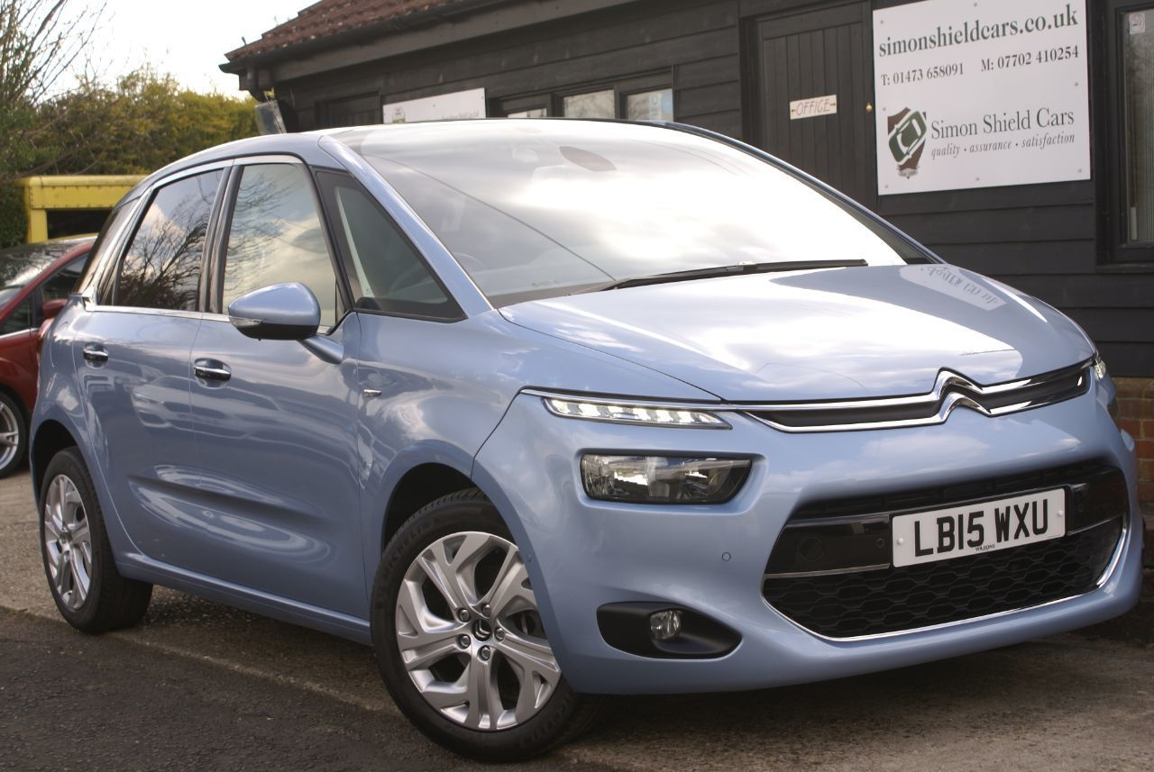 Futuristic Citroen C4 Picasso arrives at Simon Shield Cars