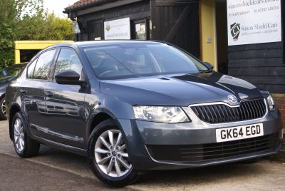 Skoda Octavia 1.2 petrol - small engine, big car, great value for money