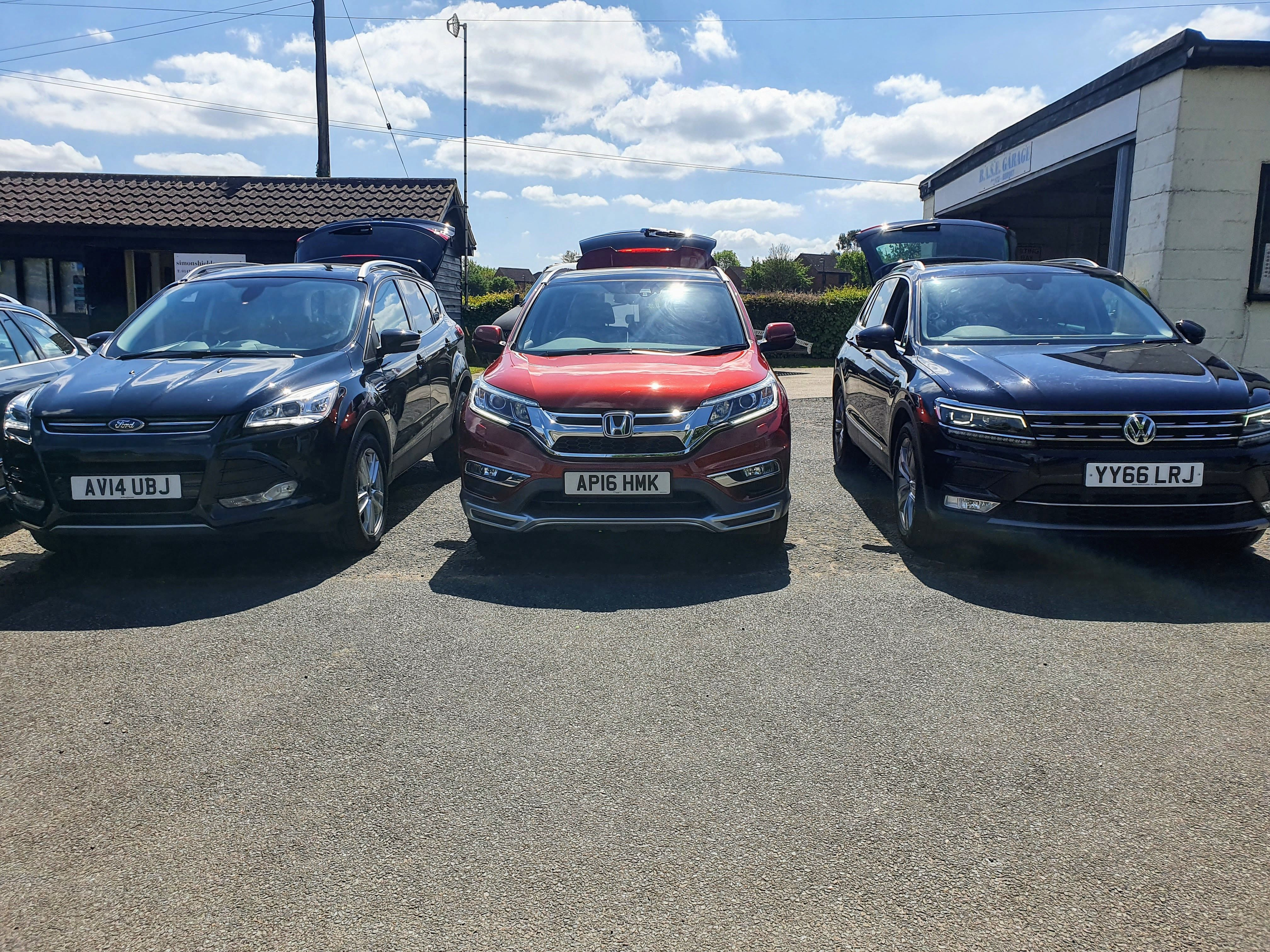 Ford Kuga vs VW Tiguan vs Honda CRV - which used car would you buy?