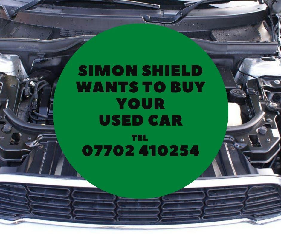 Selling your used car - call Simon Shield Cars